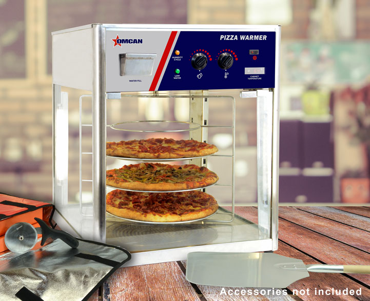 24 Inch Pizza Display Warmer With 1380 W Omcan