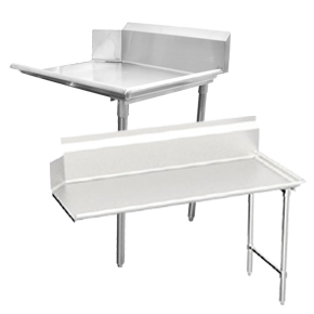 CLEAN DISH TABLES