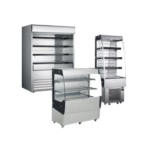 OPEN REFRIGERATED DISPLAY CASES