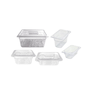 POLYCARBONATE CLEAR FOOD PANS