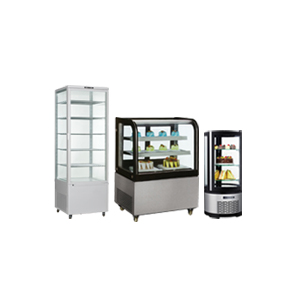 FLOOR REFRIGERATED DISPLAYS