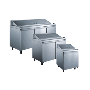 REFRIGERATED SALAD/SANDWICH PREP TABLES