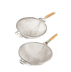 REINFORCED DOUBLE MESH STRAINERS