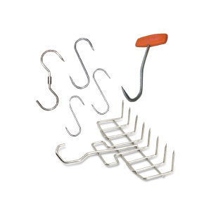 HOOKS AND HANGERS