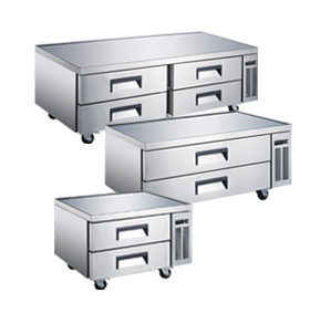 REFRIGERATED CHEF BASES WITH DRAWERS