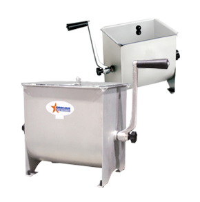 MANUAL NON-TILTING MEAT MIXERS