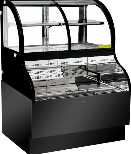 48-inch Dual Service Open Refrigerated Floor Display Case