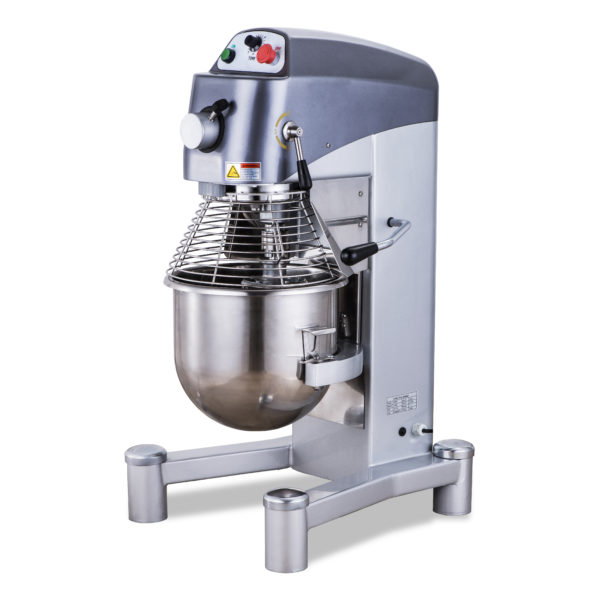 30_40-QT Heavy-Duty General Purpose Mixer with Guard and Timer