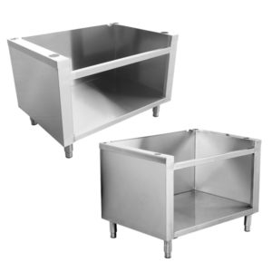 CABINET BASES FOR GAS EQUIPMENT