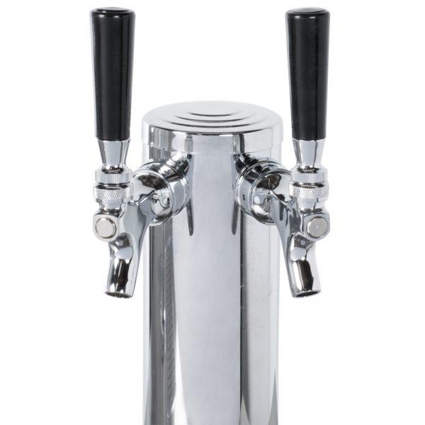 19.6 cu.ft. Solid Door Back Bar Cooler with Beer Dispenser