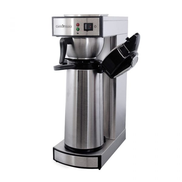44314_Stainless Steel Coffee Maker with 2-Liter Air Pot capacity