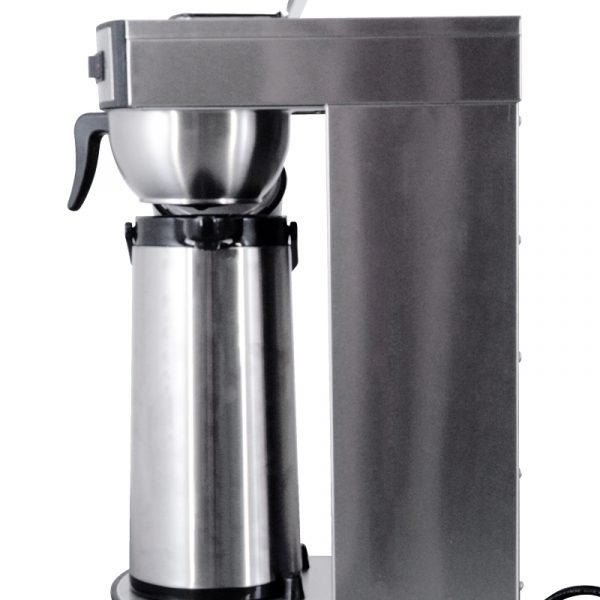 44314 - Stainless Steel Coffee Maker with 2L Air Pot and 2.2 L thermos capacity - Side View