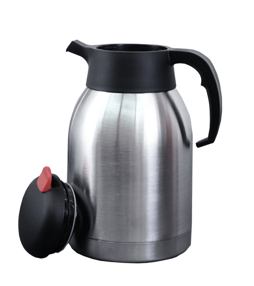 44315 -Stainless Steel Coffee Maker with 2L Thermos Pot - Coffee Pot
