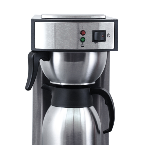 44315 -Stainless Steel Coffee Maker with 2L Thermos Pot - Front