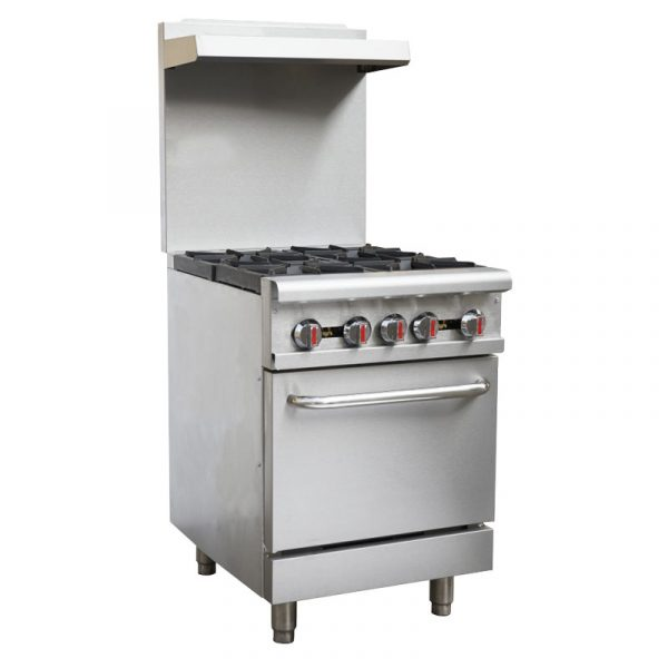 24-inch Commercial Oven Natural Gas Range