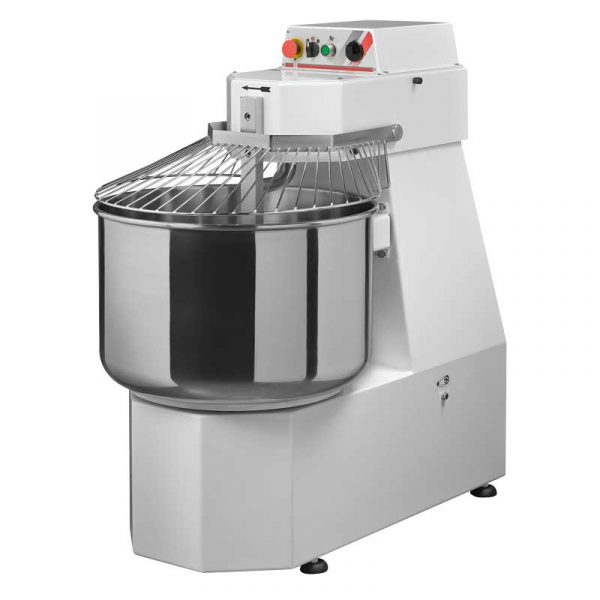 Heavy-Duty Spiral Dough Mixer With 88 LB. Capacity