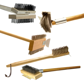 GRILL AND BROILER BRUSHES