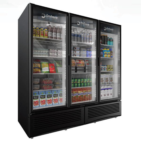 41220_79-inch Three-Door Refrigeration with 70.8 cu. ft. capacity