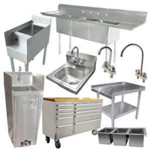 TABLES AND SINKS