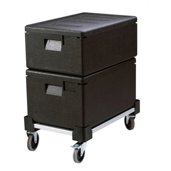 Cart for Full-size Insulated Food Pan Carriers