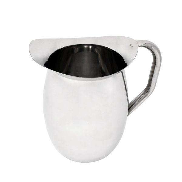 3 QT Stainless Steel Bell Pitcher