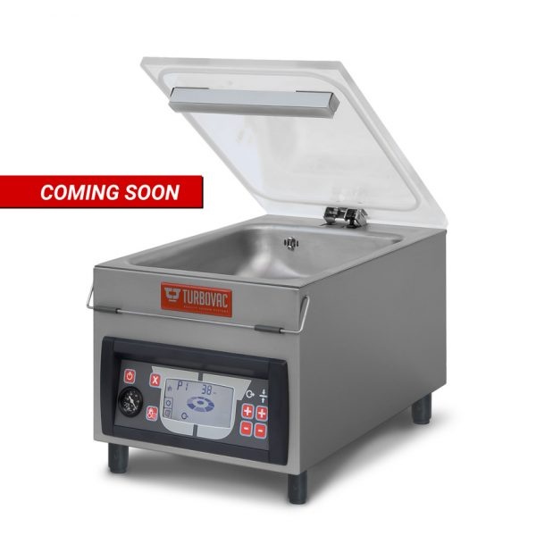 "Turbovac Heavy-Duty Vacuum Packaging Machine with 11"" Seal Length and 8m³ Vacuum Pump"