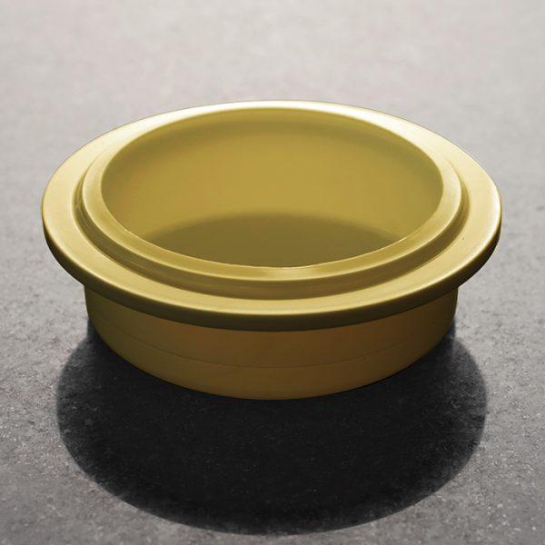 Plastic Gold Beaker Lid