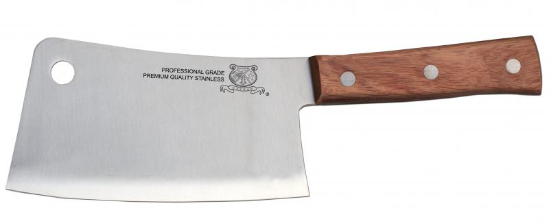 6-inch Cleaver with Wooden Handle