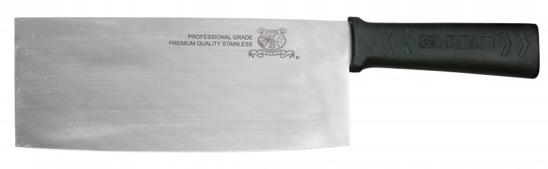 8-inch Chinese Style Cleaver with Polypropylene Handle