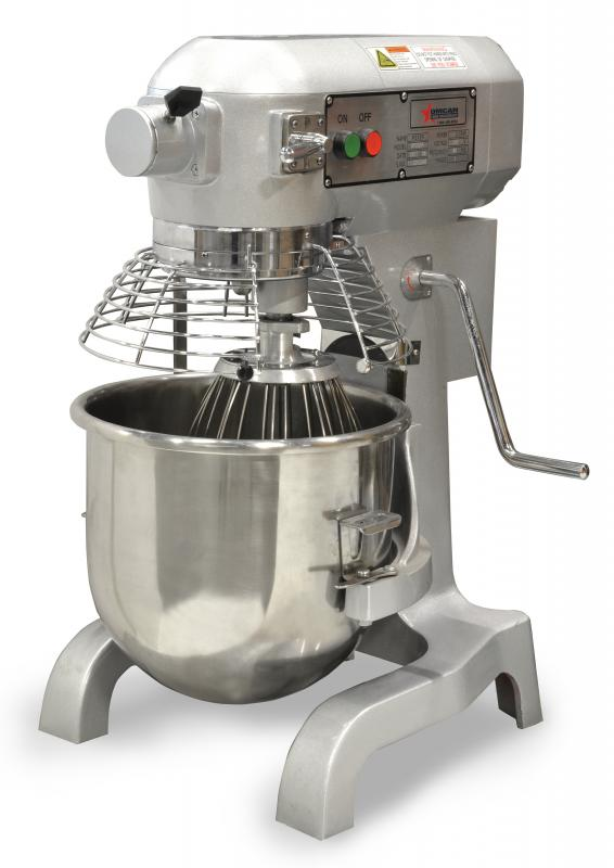 ETL Certified 20-QT General Purpose Mixer with Guard