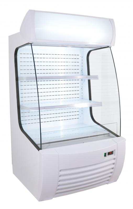 Refrigerated Floor Display Case with 360 L capacity