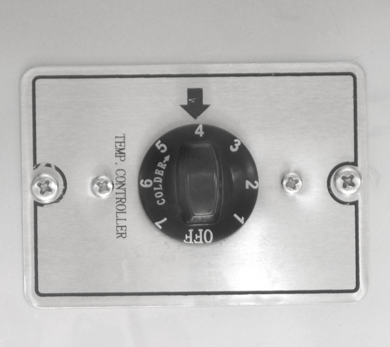 73-inch Solid 3-Door Bottle Keg Cooler with Beer Dispenser