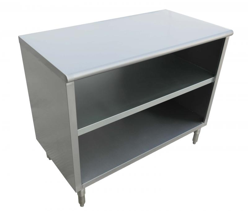 15″ x 60″ x 36″ 18-Gauge Stainless Steel Dish Cabinet - Omcan